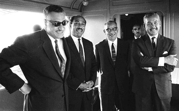 Nasser, Sadat, Sabri and Shafei