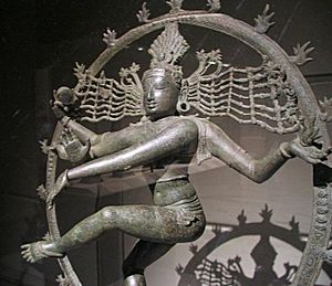 History of metallurgy in South Asia - Bronze Chola Statue of Nataraja at the Metropolitan Museum of Art, New York City.