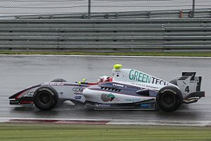 Nathanaël Berthon - Nathanaël Berthon at the 2011 Nürburgring World series by Renault round