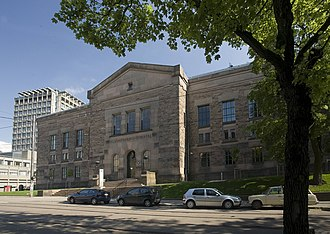 National Library of Norway - The building of Nasjonalbiblioteket in Oslo