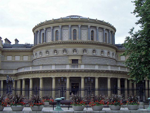 Museo Archeologico di Dublino la rotonda centrale