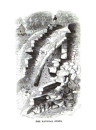 David Dale Owen - Illustration of Natural Steps, Arkansas