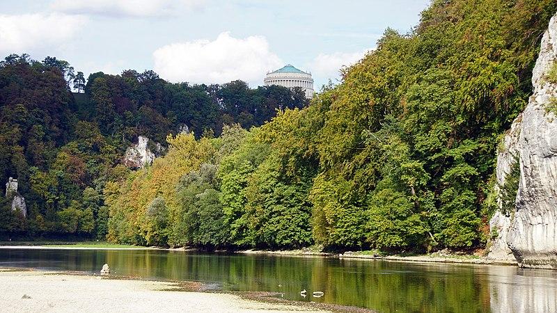 File:Naturschutzgebiet und Geotop Weltenburger Enge 18.jpg