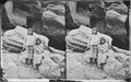 Navajo brave and his mother 1873 - NARA - 519795.tif