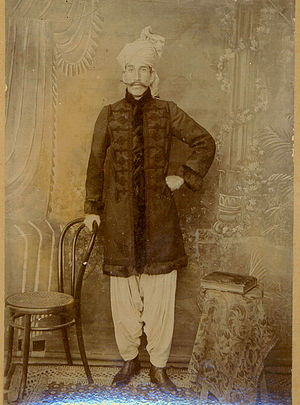 Muhammad Akram Khan - Mohammad Ismail Khan, son of Mohammad Akram Khan, at the Delhi Durbar, 1911