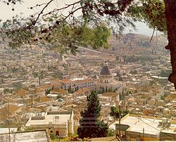 Nazareth, Israel view