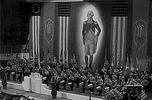 Fritz Julius Kuhn - Madison Square Garden rally 1939