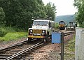 Network Rail Land Rover entering Bridge of Orchy Station - geograph.org.uk - 24990.jpg