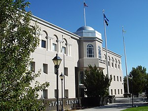 Nevada Legislature - Image: Nevada Legislature Building