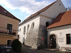 New (Rear) synagogue in Zámostí, Třebíč, Třebíč District.jpg