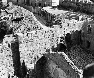 New Gate - New Gate during battles for Jerusalem 1948