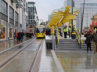 Exchange Square tram stop