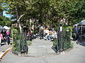New Yorkers in Abingdon Square Park (October 4 2008).jpg