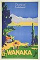 New Zealand Railway poster - 'Charm of Lakeland' Wanaka (10468985025).jpg