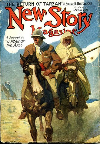The Return of Tarzan - The Return of Tarzan was serialized in New Story Magazine in 1913.