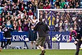 Niall Horan takes a penalty (14277896006).jpg