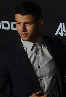 Nick Jonas - Kingdom Premiere Oct 2014 (cropped) (cropped).jpg