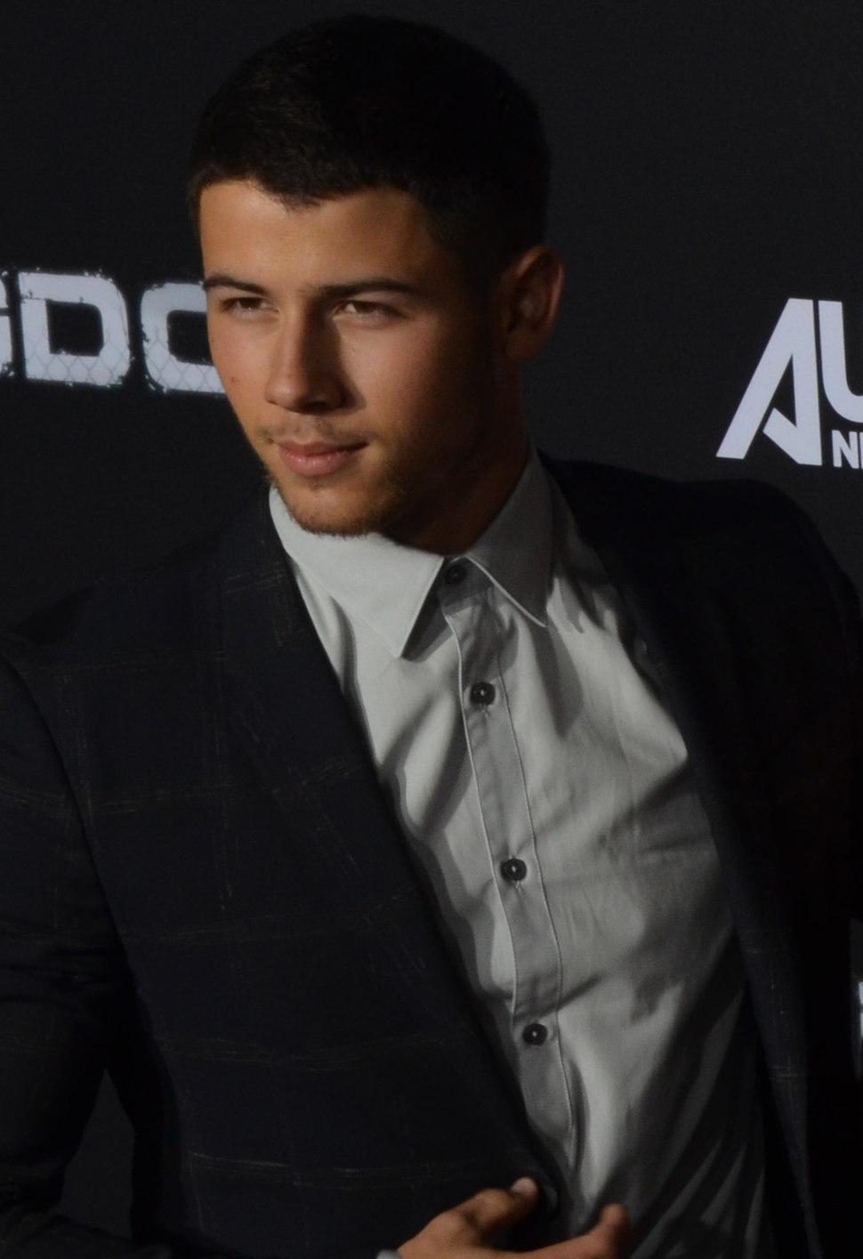 Nick Jonas - Kingdom Premiere Oct 2014 (cropped) (cropped)