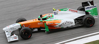 Nico Hülkenberg - Hülkenberg as Force India's third driver at the 2011 Malaysian Grand Prix