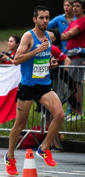 Nicolás Cuestas - Cuestas at the 2016 Olympics