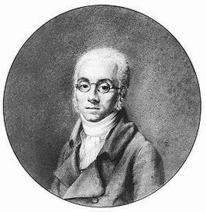 Nicolas-Antoine Taunay - Self-portrait (crayon on paper)