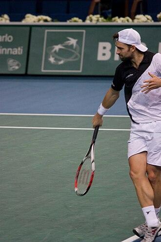 Nicolas Kiefer - Image: Nicolas Kiefer at the 2008 BNP Paribas Masters