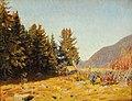 Niels Skovgaard - Autumn day at Lillehammer, Norway (1910).jpg
