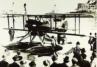 Nieuport-Delage NiD 29 - Nieuport-Delage NiD.29G floatplane modified for Grand Prix de Monaco