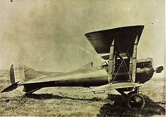 Nieuport-Delage NiD 29 - Nieuport-Delage NiD.29 fighter side view