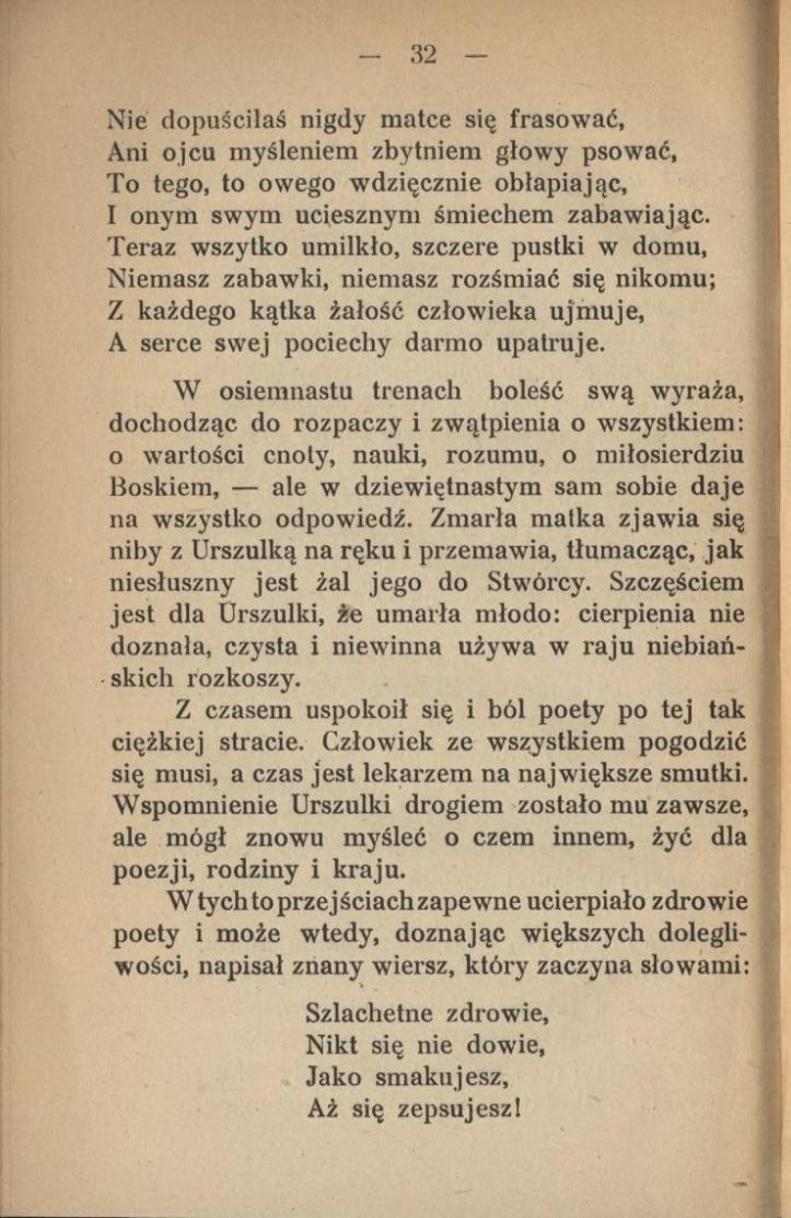 Stronaniewiadomska Cecylia Legendy Podania I Obrazki