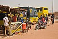 Niger, Filingué (8), bus station.jpg