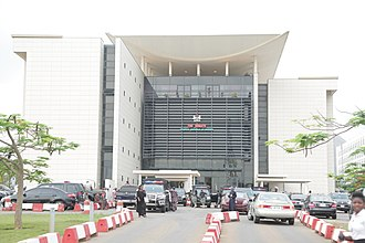 National Assembly (Nigeria) - Image: Nigeria Senate Building (Red Chamber)