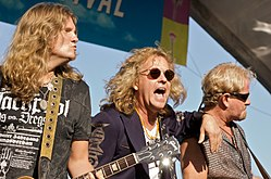 I Night Ranger in concerto nel 2009