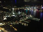 Night view of Victoria Harbour from Sky100, Hong Kong - 20130808.jpg