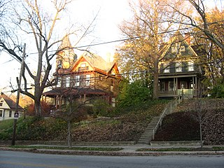 Ninth Street Hill Neighborhood Historic District United States historic place