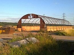 Nissen hut on Island road - geograph.org.uk - 1439912