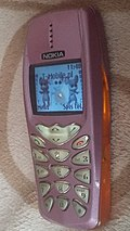 Nokia 3510i z defektem na środku ekranu.jpg