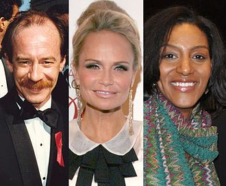Elmo's World - Michael Jeter (left) played Mr. Noodle's brother Mr. Noodle. Kristin Chenoweth (middle) played Mr. Noodle's sister, Ms. Noodle. Sarah Jones (right) played Mr. Noodle's other sister Miss Noodle.