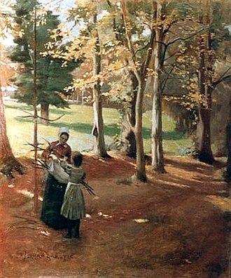 Norman Garstin - Image: Norman Garstin Autumn 1882