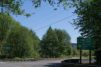 Oregon Route 103 - Image: North End of Oregon Hwy 103
