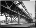 North approach spans. - Sewickley Bridge, Spanning Ohio River, Sewickley, Allegheny County, PA HAER PA,2-SEW,1-12.tif