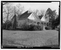 North side and west front - William Webb Farm, House, State Highway 3-U.S. highway 19, Sumter, Sumter County, GA HABS GA-20-A-6.tif