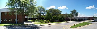 Northport High School - Northport High School on Laurel Hill Road