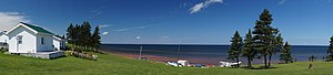 Northumberland Strait - Northumberland Strait from the Gulf Shore Road, Nova Scotia