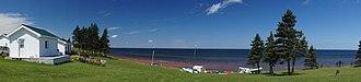 Northumberland Strait - Northumberland Strait from the Gulf Shore Road, Nova Scotia