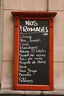 Liste de fromages belges wikip dia - Liste des magasins promenade des flandres ...