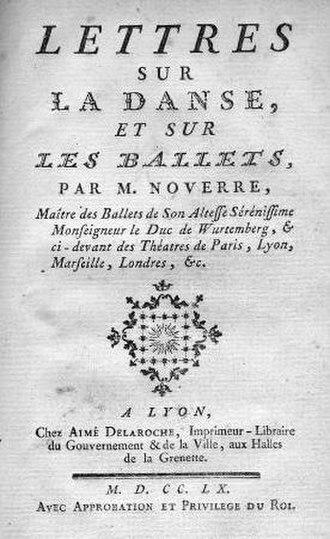 Jean-Georges Noverre - Image: Noverre 1760