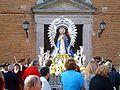 Nuestra Señora de la Natividad saliendo de su ermita el 24 de Abril de 2017.jpg