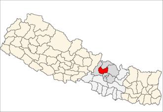 Nuwakot District - Image: Nuwakot district location