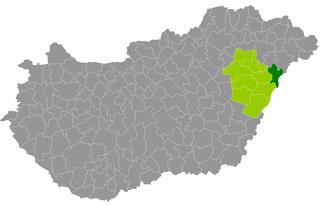 Nyíradony District Districts of Hungary in Hajdú-Bihar